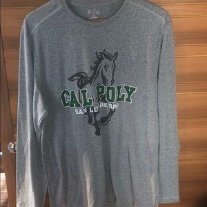 Cal Poly San Luis Obispo Grey Long Sleeve
